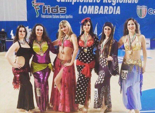 Pioggia di medaglie per le fagnanesi al Campionato di Danze Orientali
